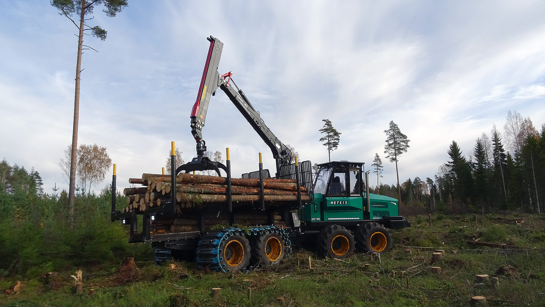 Metsis - forest machinery from Estonia